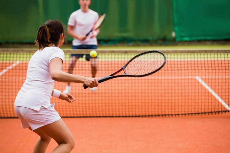 Tennis Technique After Pro Tennis Players